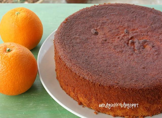 Orange Almond Cake Sbs