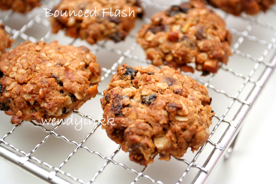 Table for 2.... or more: Chocolate Cherries Oatmeal Cookies