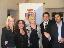 Katia Ricciarelli e il Principato di Seborga
