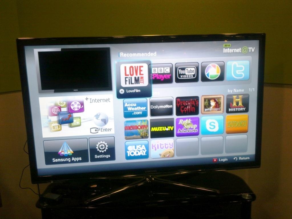 internet tv not working on samsung 3dtv avforums. Black Bedroom Furniture Sets. Home Design Ideas