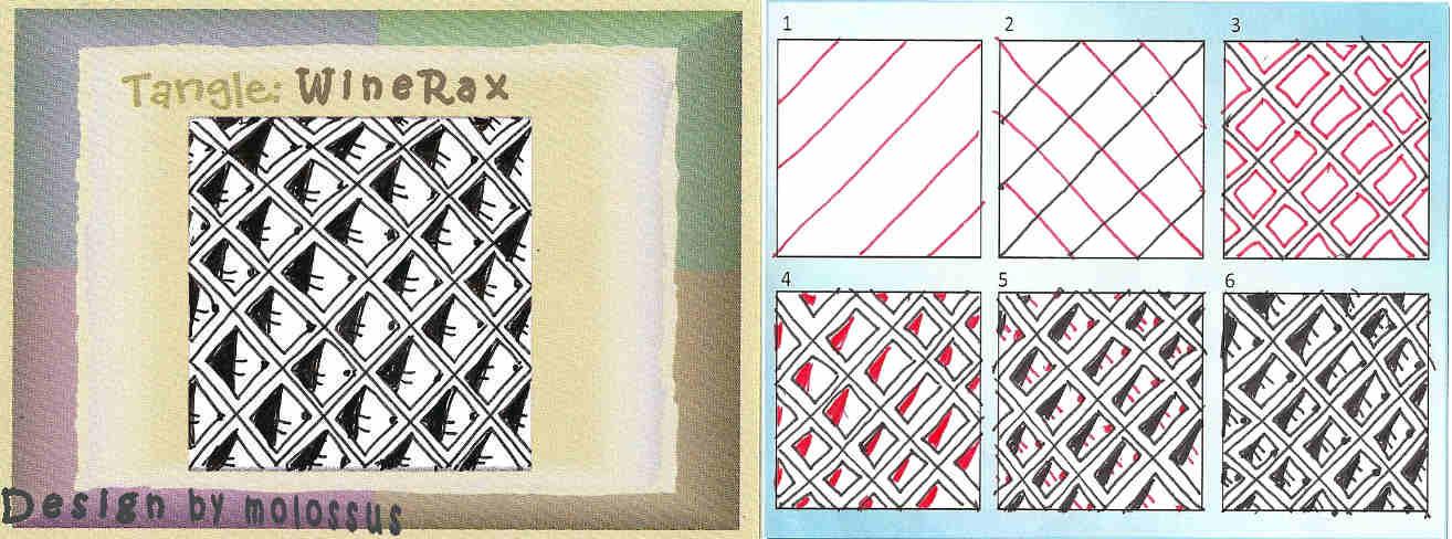 My Tangle Patterns Winerax New Tangle Patterns