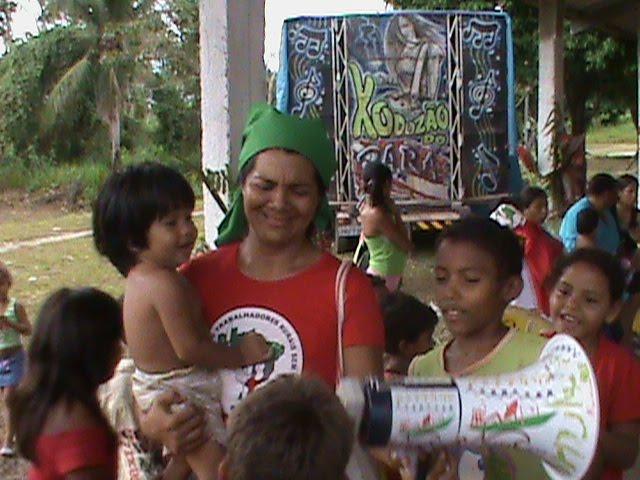 3 de maio - Rádi@ NossaCasa Amazônia com Sem Terrinhas de Mosqueiro/PA