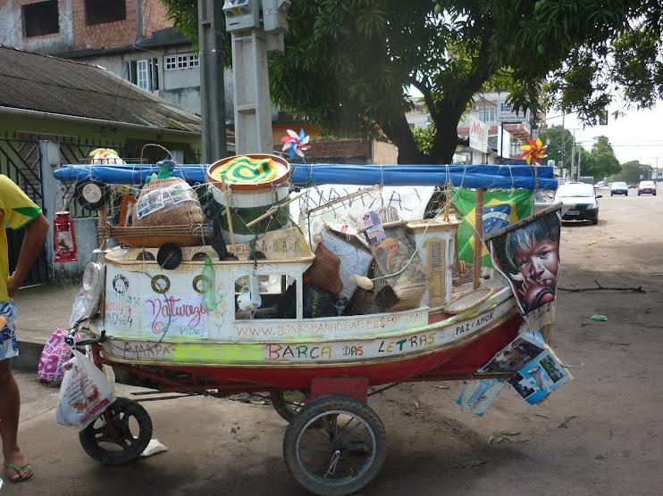 BArca das Letras Itinerante (livros, brinquedos, artesanato, arte, Rádio Comunitária NossaCasa)