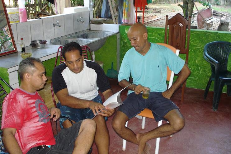 Primeira apresentação (para familiares e amigos) do projeto NossaCasa no Amapá