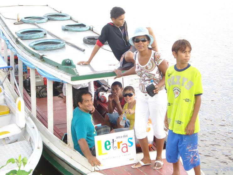 A caminho das comunidades ribeirinhas do Amapá
