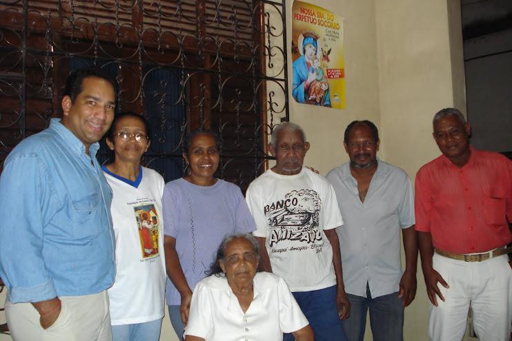 Mestre Sassuca e família, em Macapá/AP