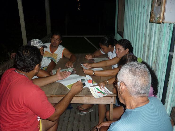 Roda de Conversa na Comunidade Carmo do Macacoari