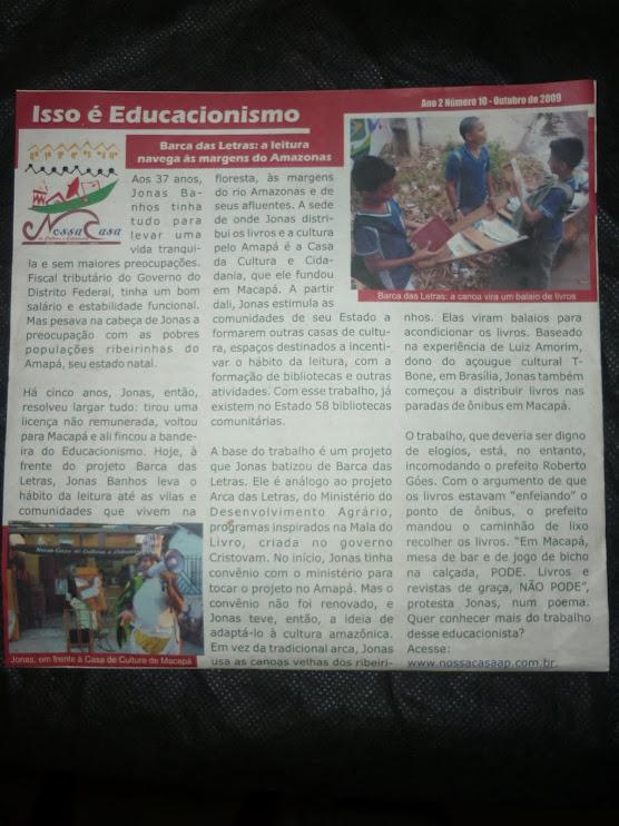 Movimento Educacionista: luta por uma educação de qualidade.