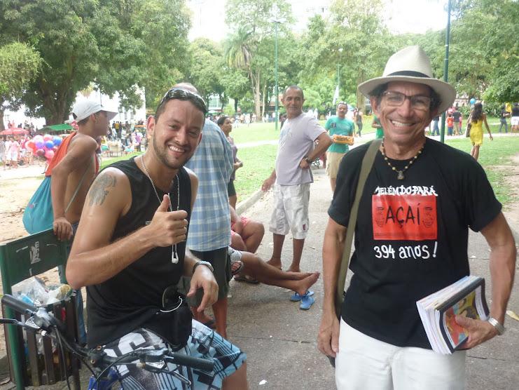 15 de maio - Encontros da Rádi@ NossaCas@ Amazônia na Praça da República em Belém/PA