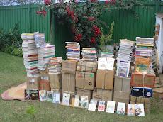 NossaCasa é doação de livros