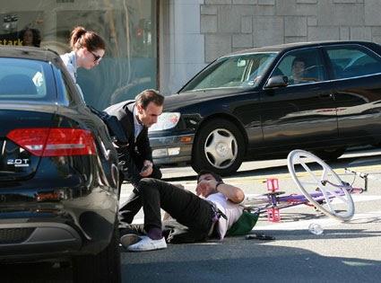 Celebrity Car Accident