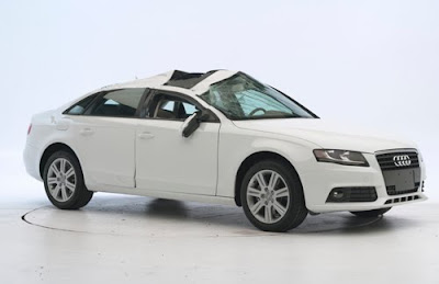 Audi A And Q Earn Insurance Institute Top Safety Pick - Car insurance for audi a4