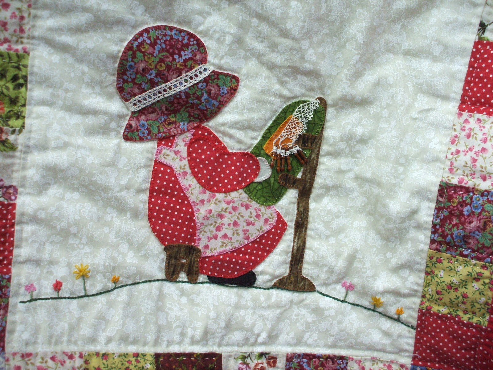 Las labores de anadeli mis labores de patchwork - Labores de punto de media ...