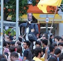 PROTESTO CONTRA AUMENTO DE TARIFA DE ÔNIBUS