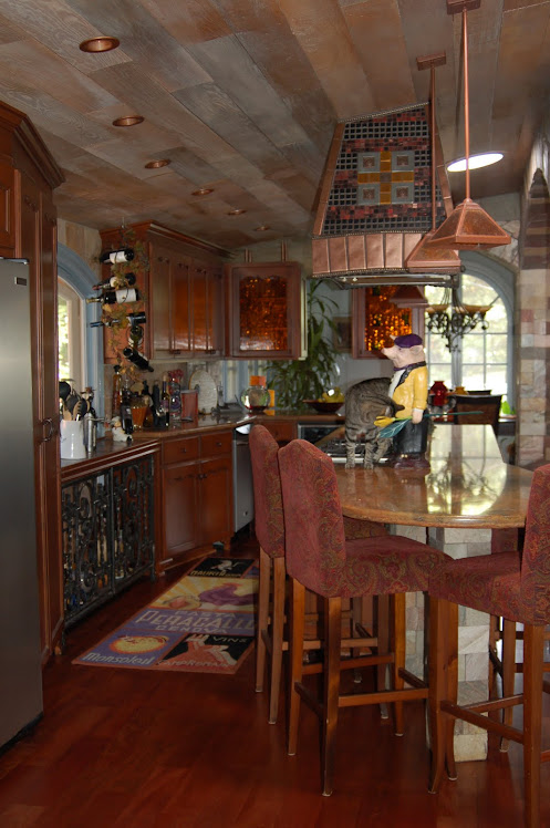 New Rustic Tuscan Villa