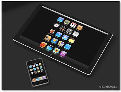 iPad segera rilis, mirip i-Phone