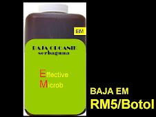 Baja Organik E.M. (Effective Microb)
