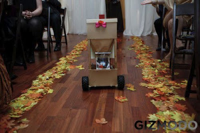 Robot Flower Girl