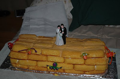 Twinkie Wedding Cakes