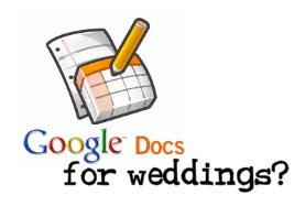 google wedding docs