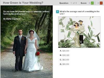 how green is your wedding quiz