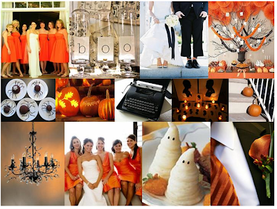 Halloween Wedding Inspiration Board