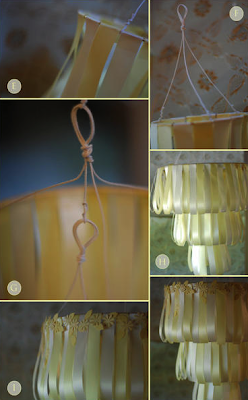 DIY Wedding Cake Chandelier