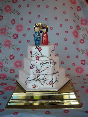 unique wedding cake photo