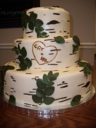 How To Make Aspen Tree Design For Cake
