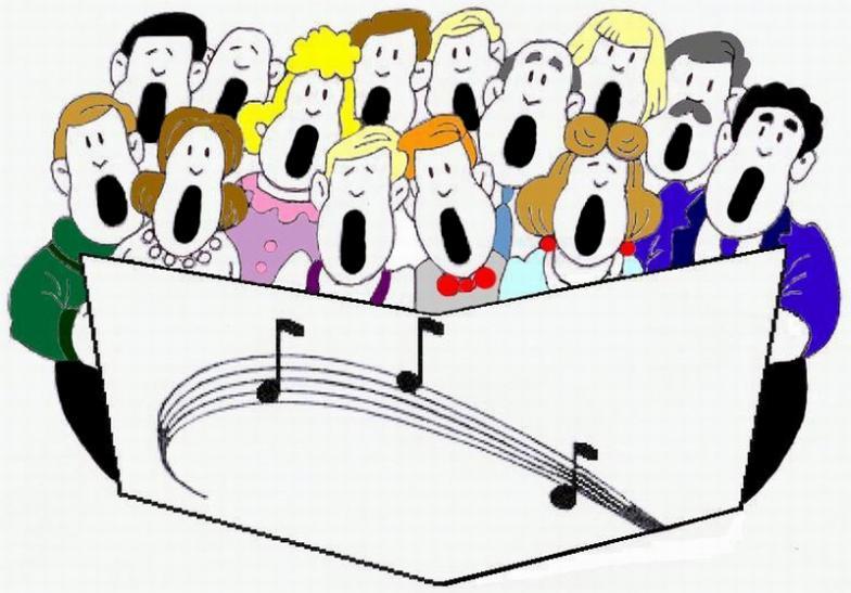 church singers clipart - photo #6