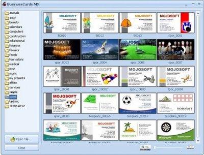 Kilometro zero mojosoft business cards com este programa voc pode facilmente criar visualizar e imprimir cartes de visita profissionais a interface do programa projetada para o usurio reheart Image collections