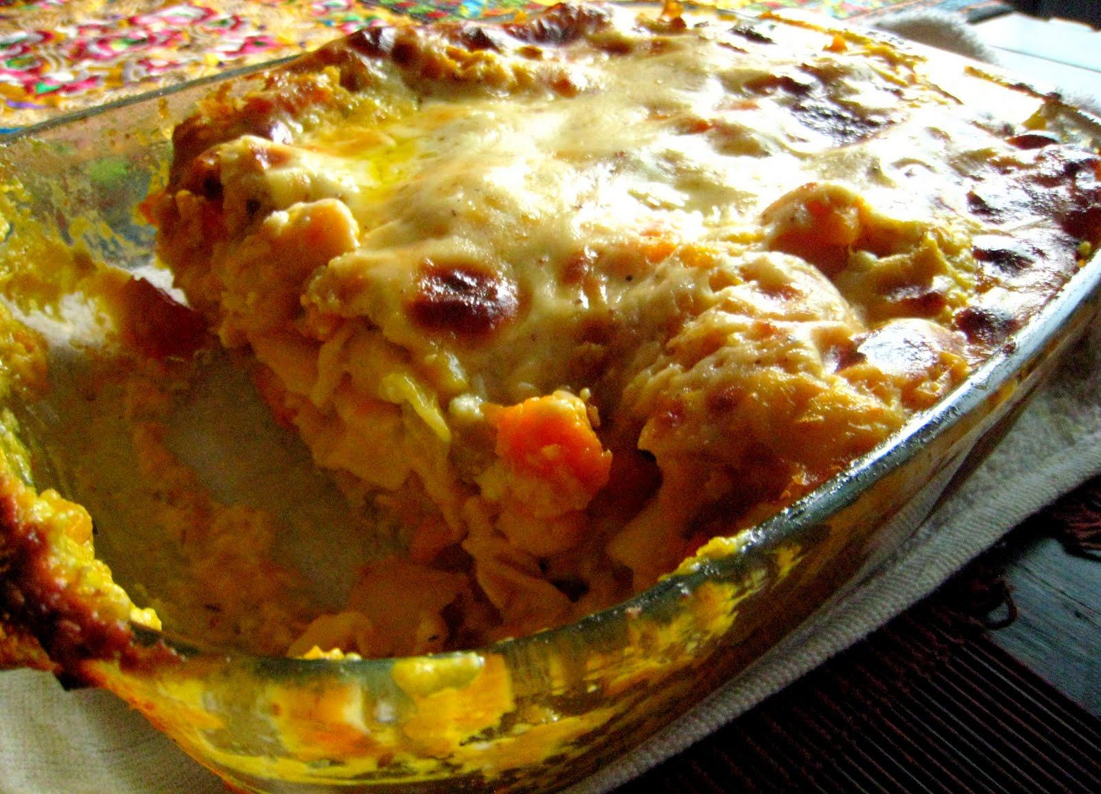 ... by the Skinny Gourmand: Roasted Pumpkin Lasagna with Butter Beans