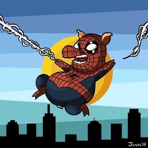 http://4.bp.blogspot.com/_SPDm6_1uhR4/R93ORl12NcI/AAAAAAAAALA/4gR8OnZrr9g/s400/Spider_Pig___Color_by_Ionahipri.jpg