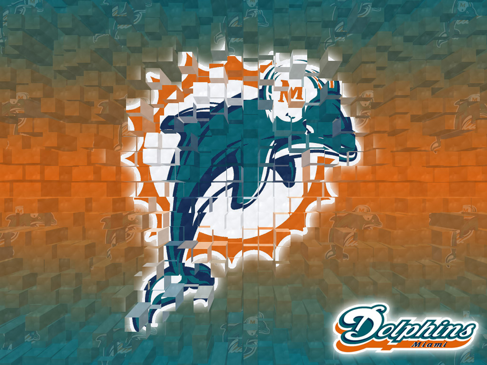miami dolphins 3d wallpaper