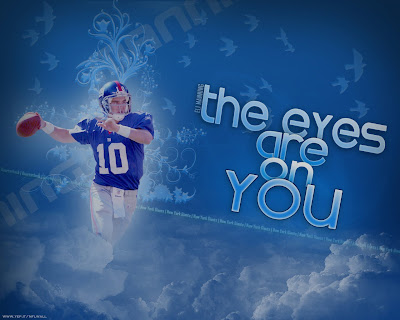 Eli NY Giants Wallpaper