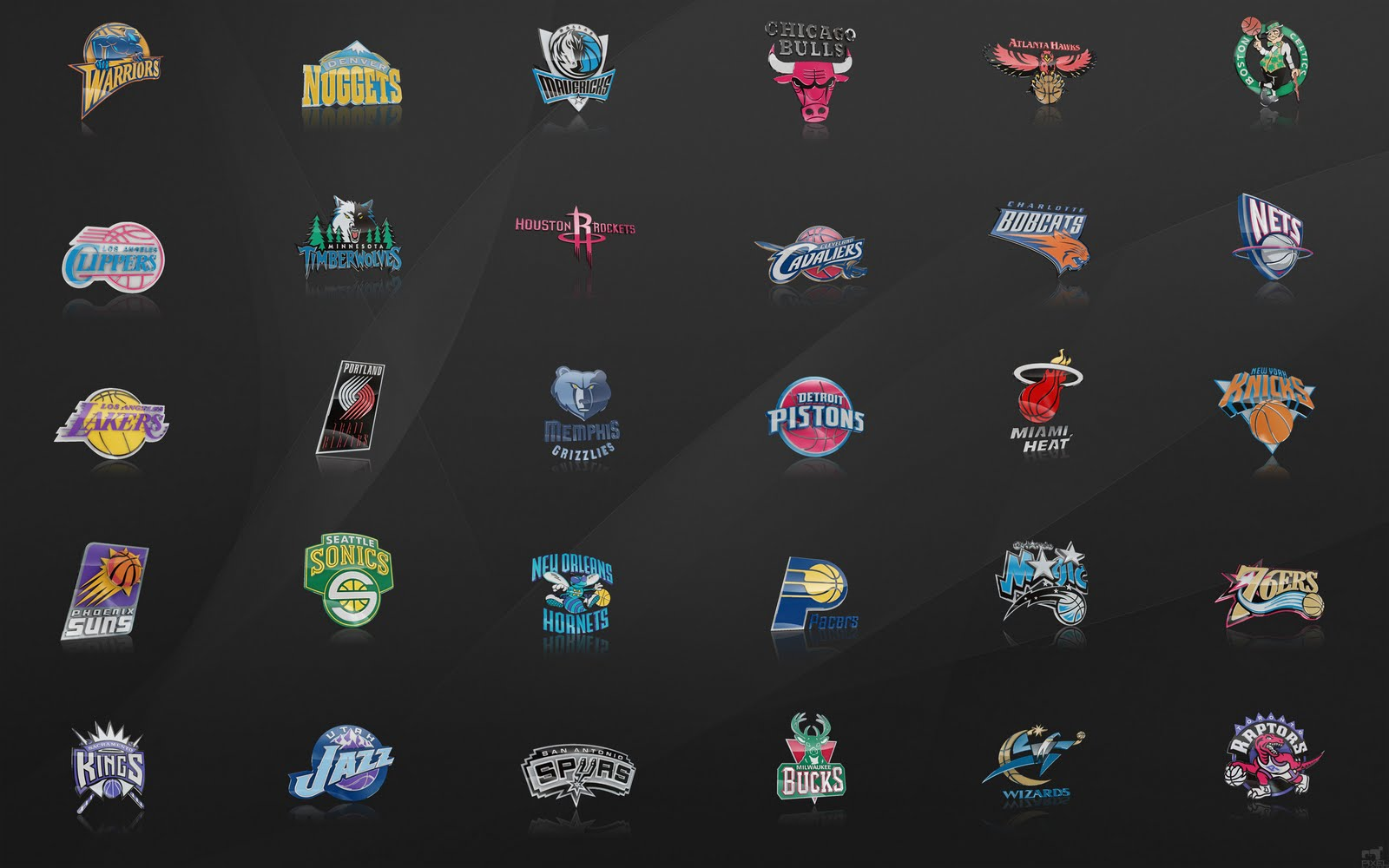 Nba logo set 05 worlds logo - Nba all teams wallpaper ...