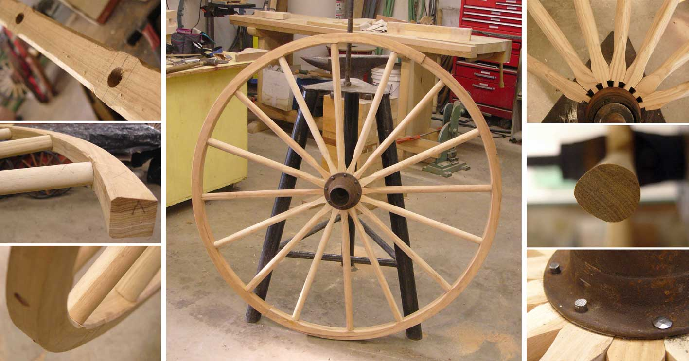 attelages voitures hippomobiles roue en bois. Black Bedroom Furniture Sets. Home Design Ideas