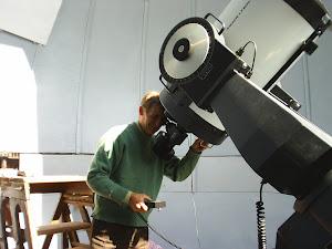 La Observatorul astronomic al Academiei Romane