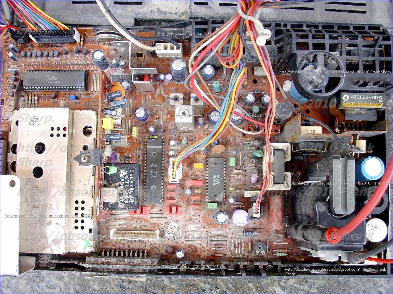 Obsolete Technology Tellye Nordmende Color 3636 Cc3 7514 Power Supply Schematic Furthermore Atx Diagram A Possible Overload In The Circuitry Of Television Receiver Such For Example As Short Circuit Trace Switch Transistor Th