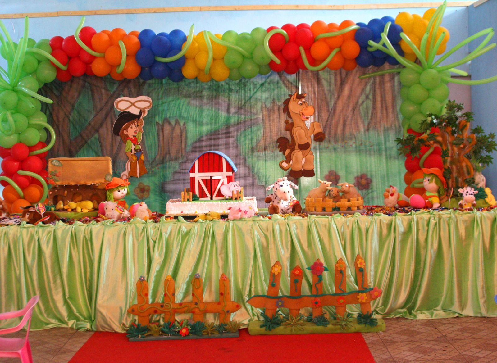 A y p fiestas decoracion de cumplea os infantiles for Decoracion de cumpleanos