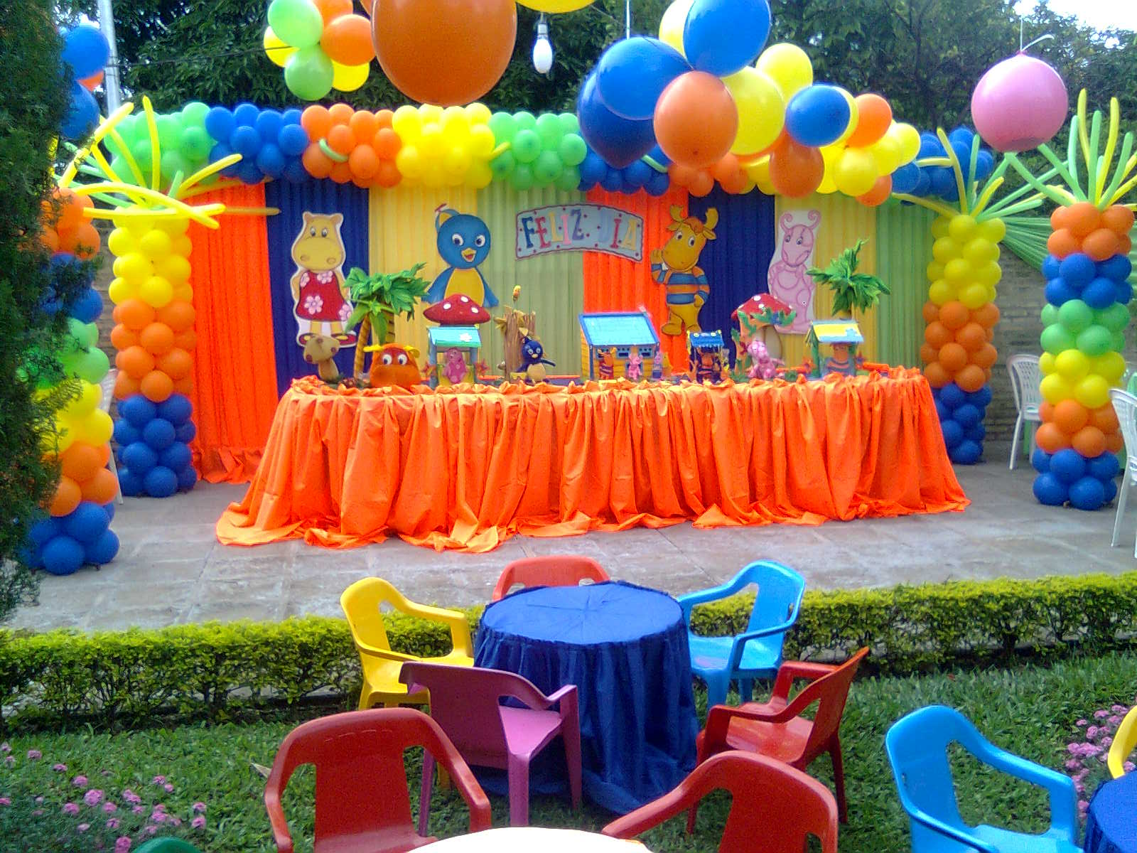 A y p fiestas decoracion de cumplea os infantiles for Fiestas ideas originales