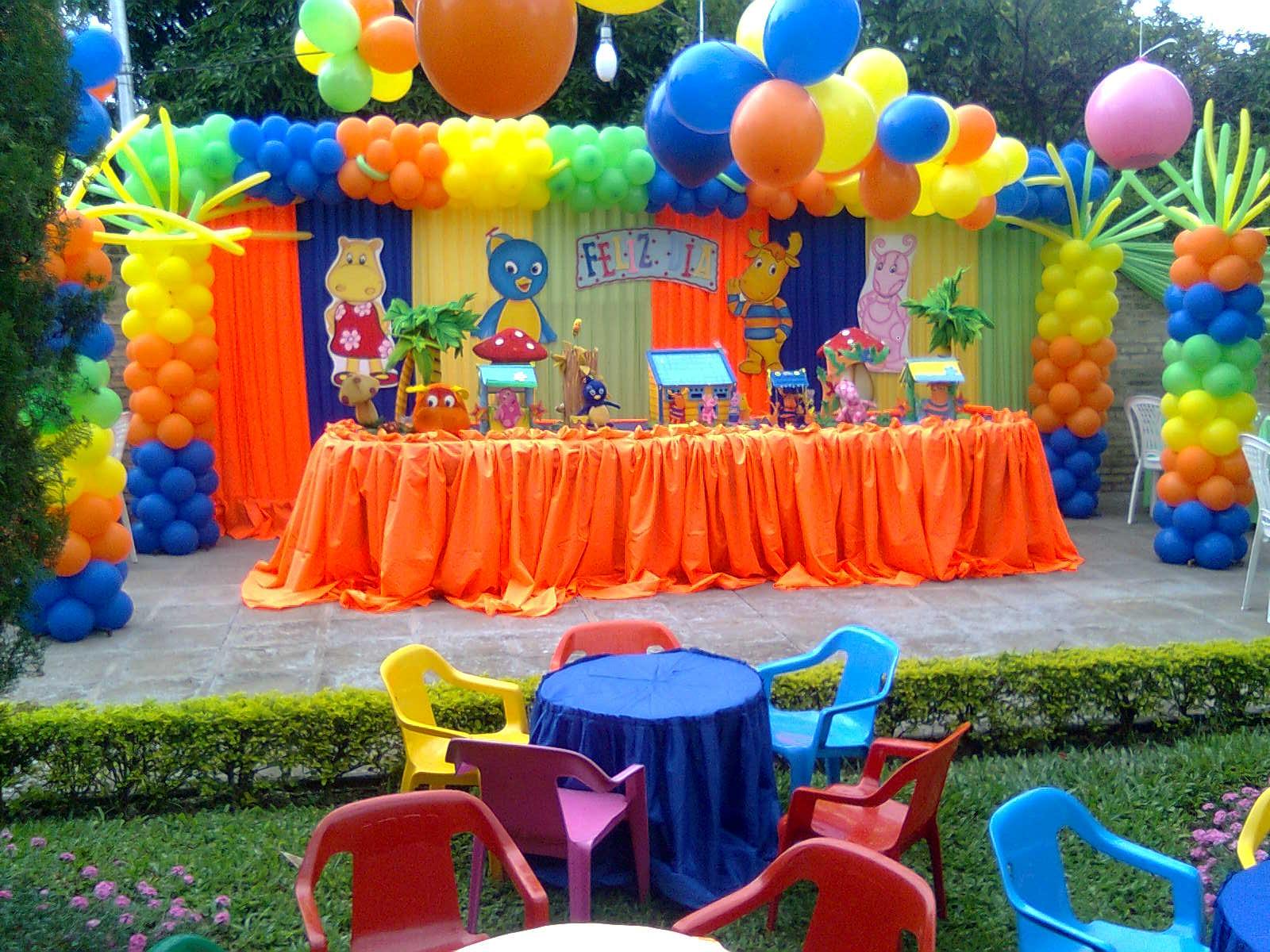 A y p fiestas decoracion de cumplea os infantiles Ornamentacion con globos