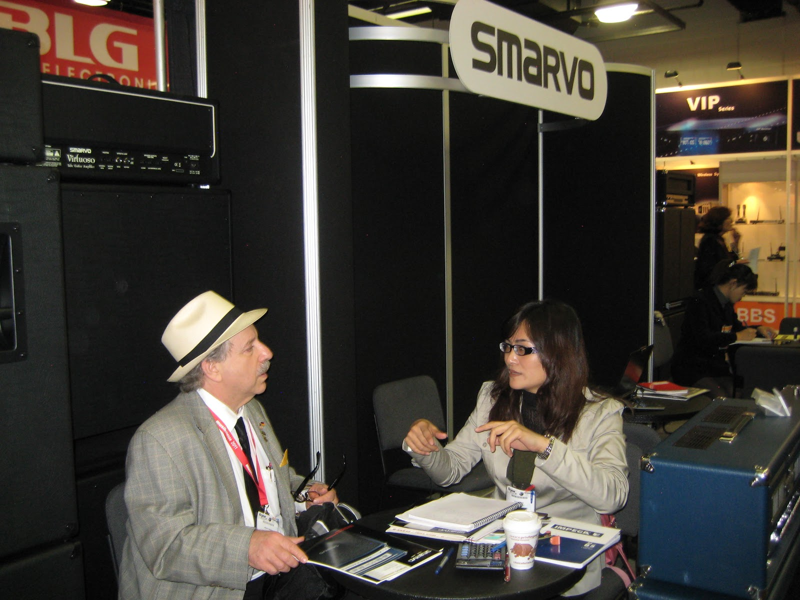jill tseng smarvo pro audio corp taipei city and jon hammond