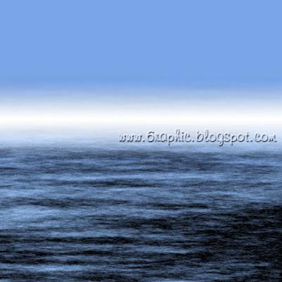 Ocean Mist Scene - Lautan Berkabut