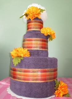 3 Tier SGD Towel Cake