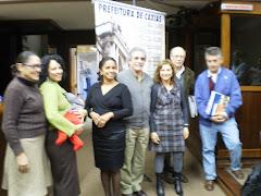 Palestrantes do Seminário Internacional de Literatura e Leitura