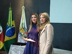 Ana Carolina Guarnieri, uma das premiadas no CAL promovido pela Biblioteca Publica Municipal