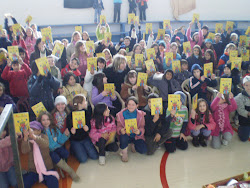 Encontro com alunos na Feira do Livro de Nova Bassano