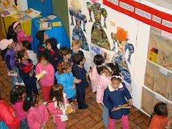 Alunos visitam a Mostra Monteiro Lobato