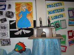 Mostra de trabalhos do Projeto Monteiro Lobato